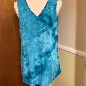 🔥2 for 20 Sami and Jo sequined Tank Top Large